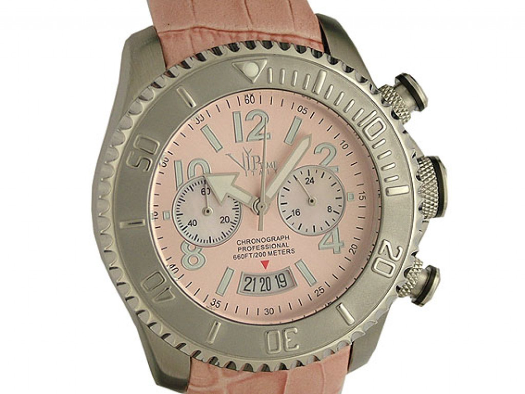 V.I.P. Time Italy Chronograph Professional 44mm Neu