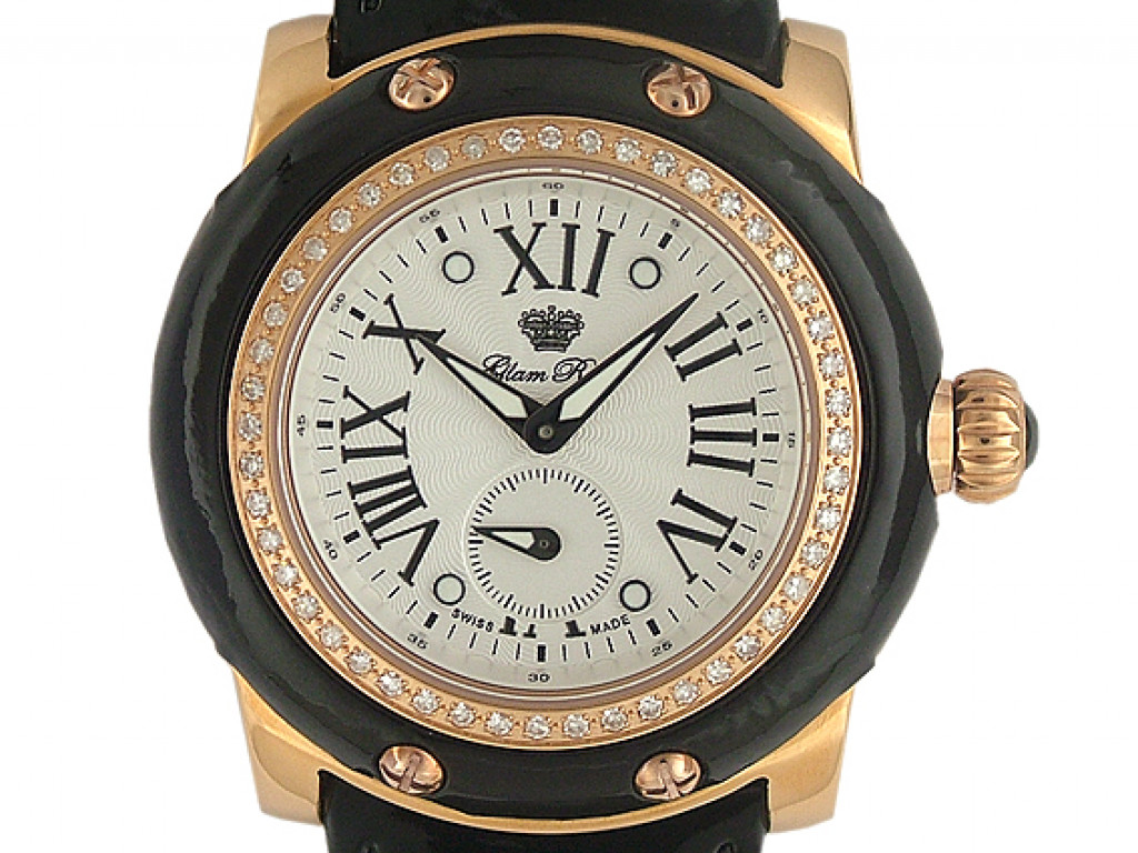 Glam Rock Miami Q Roségold Diamond 46mm UVP 2250.- N E U