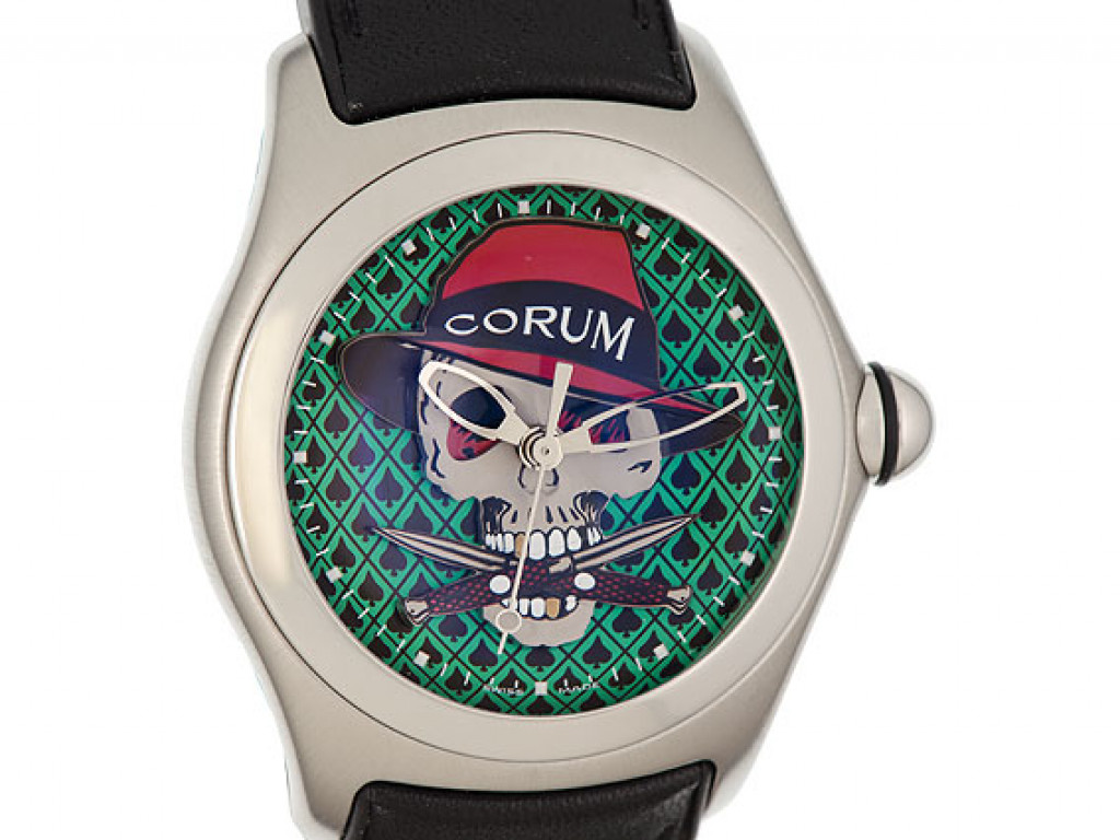 "Corum Bubble ""Gangster"" Automatik Limitiert 45mm"
