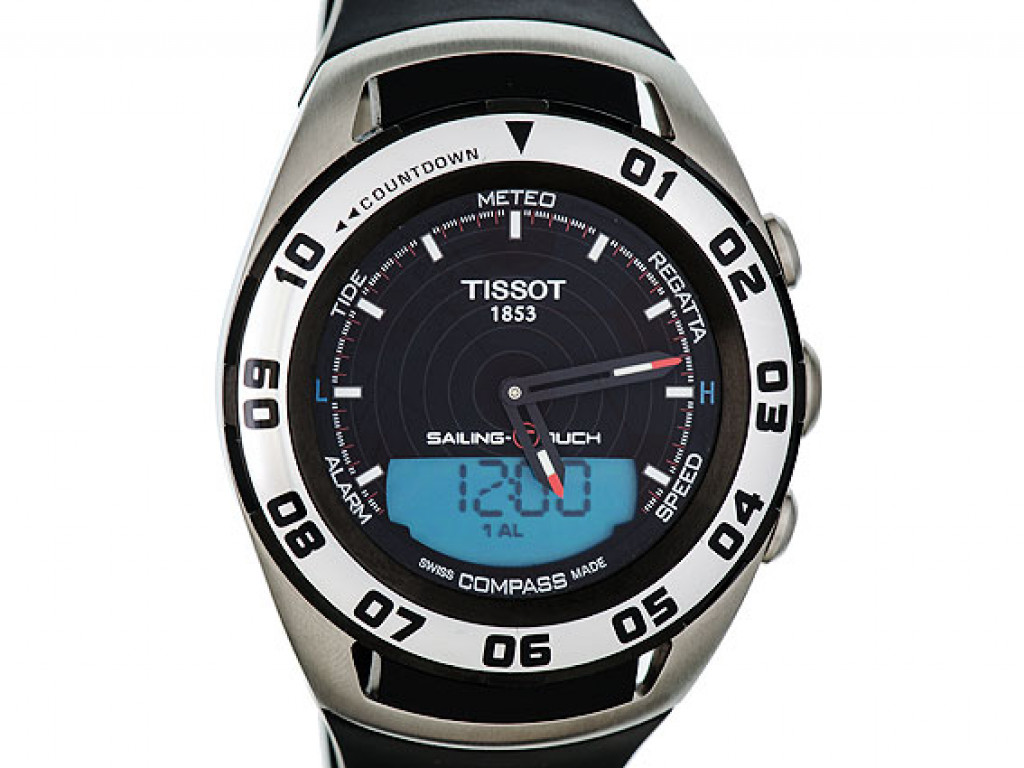 Tissot Sailing-Touch Chronograph Stahl Quarz 45mm UVP 795,- wie Neu