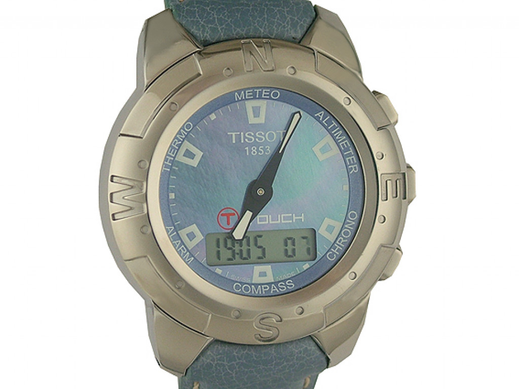 Tissot T Touch Titan Perlmutt 42mm