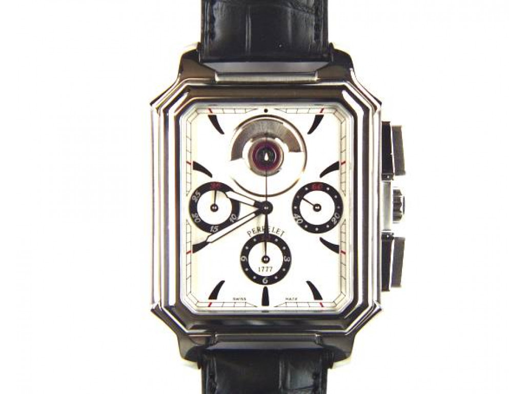 Rectangle Royal Chronograph