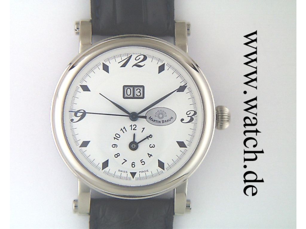 Martin Braun Big Date 39mm N E U