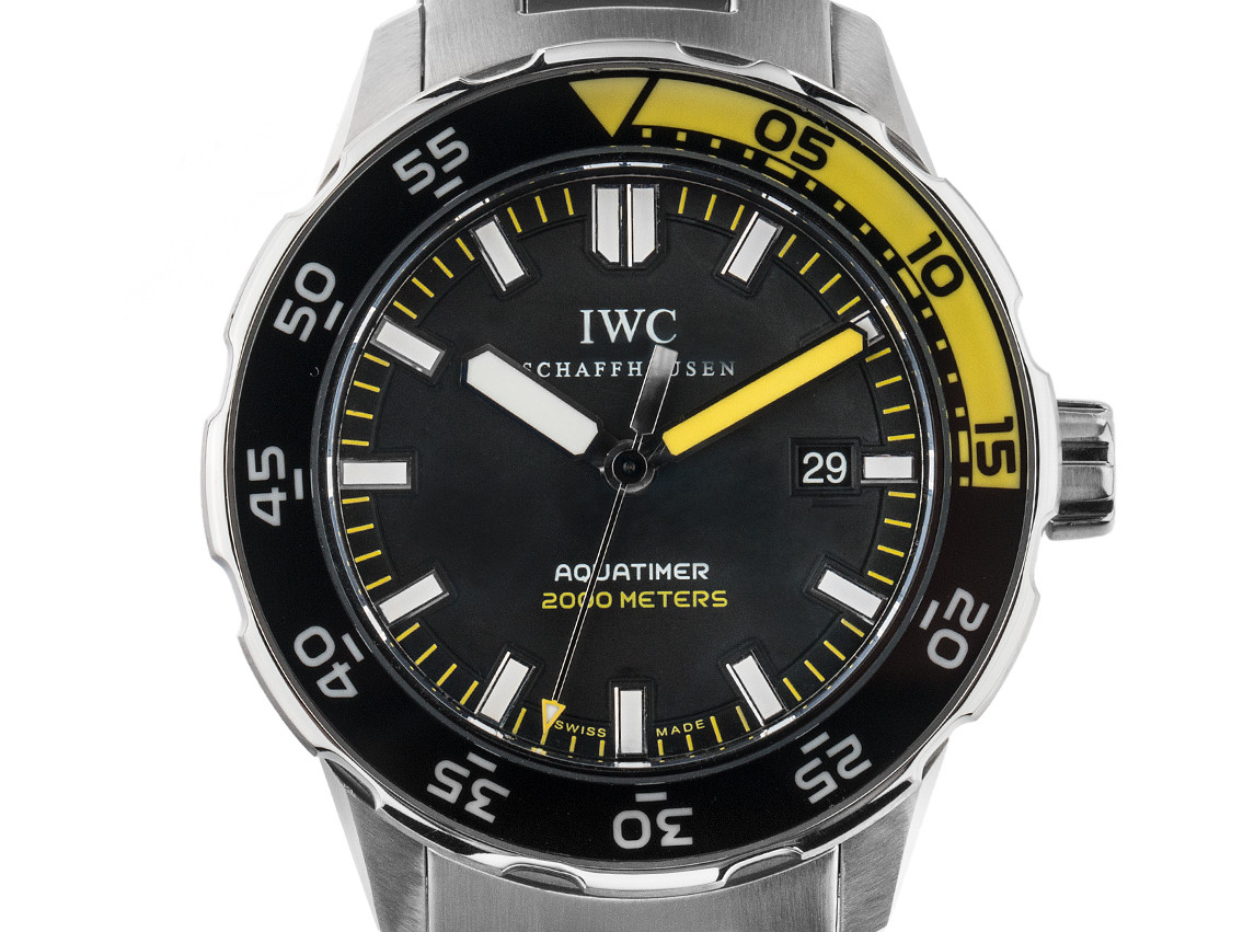 best loved 6ad78 7539e IWC Aquatimer 2000 Stahl Automatik 44mm Ref.IW356801 Vintage ...