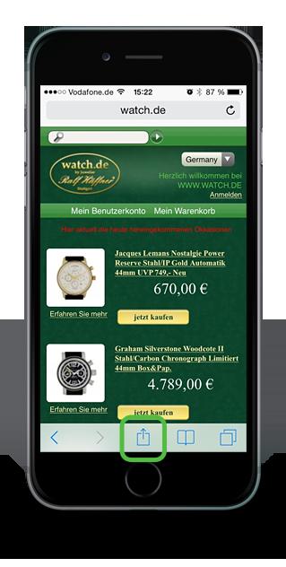 watch.de Webapp