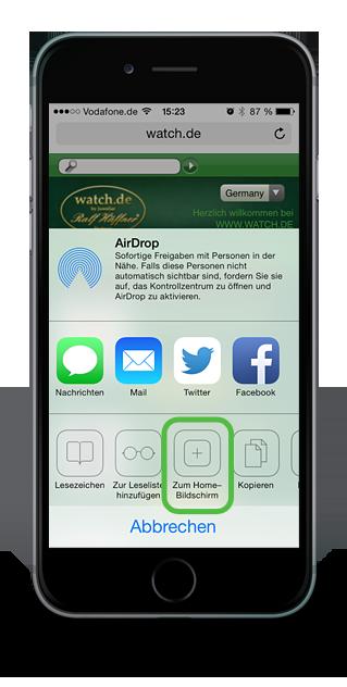 watch.de Webapp II